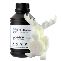 Résine PrimaCreator Value UV/DLP 500ml Blanche
